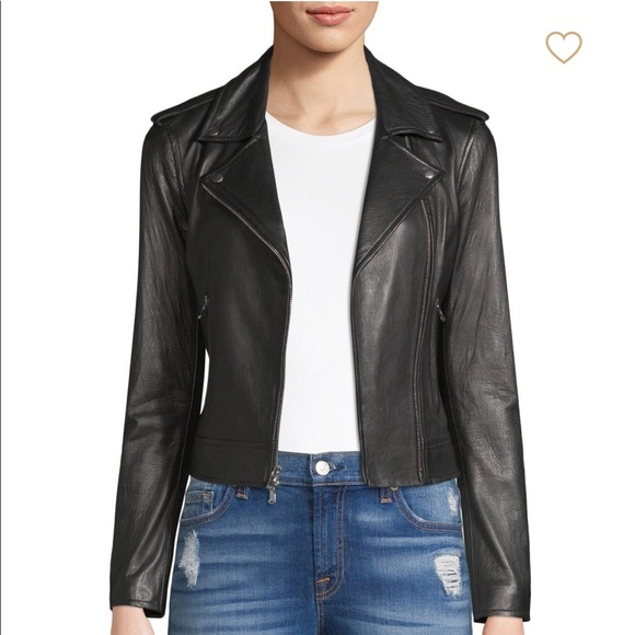 4f9940383c75 L Agence Women s Perfecto Leather Moto Jacket
